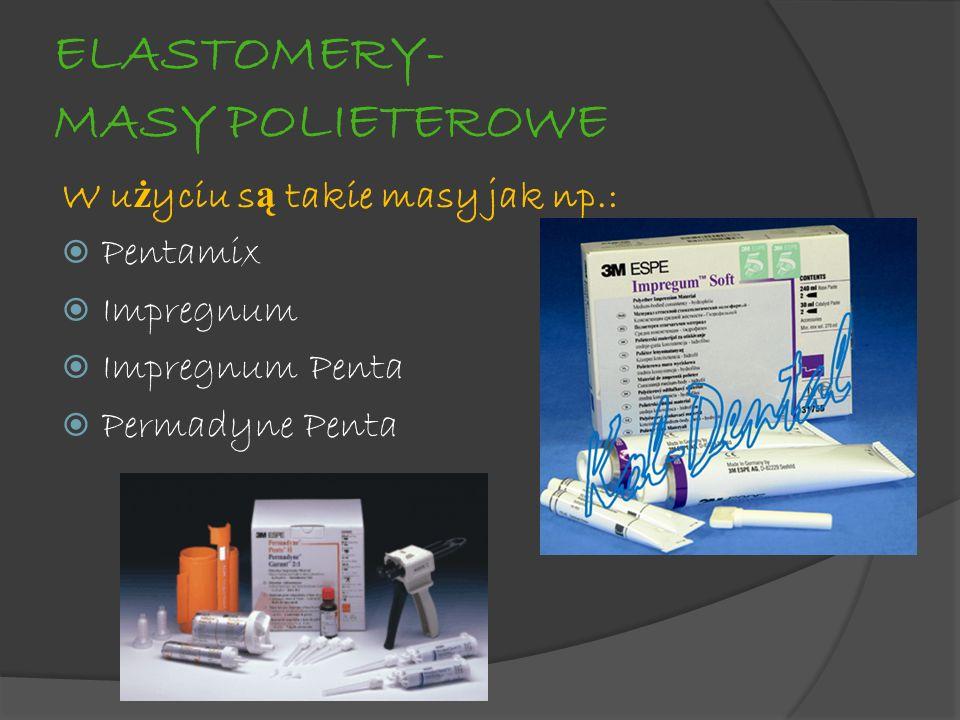 ELASTOMERY- MASY POLIETEROWE