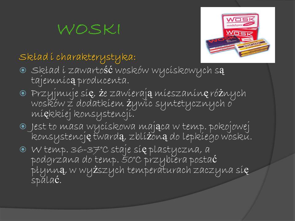 WOSKI Skład i charakterystyka: