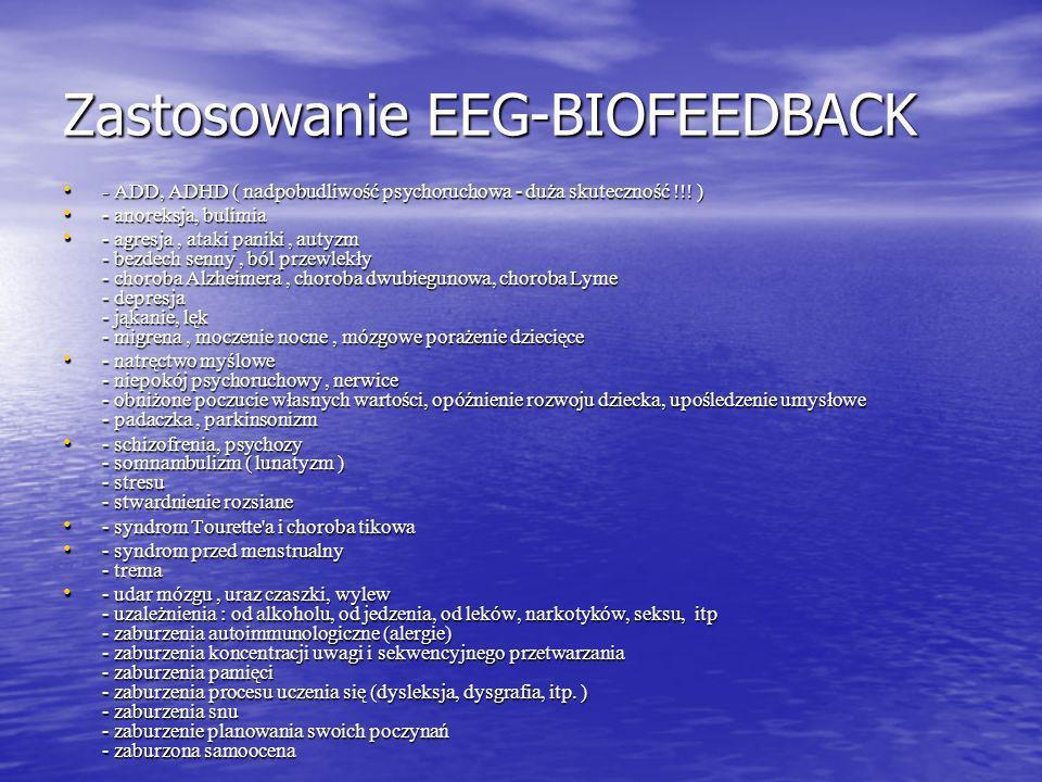 Zastosowanie EEG-BIOFEEDBACK