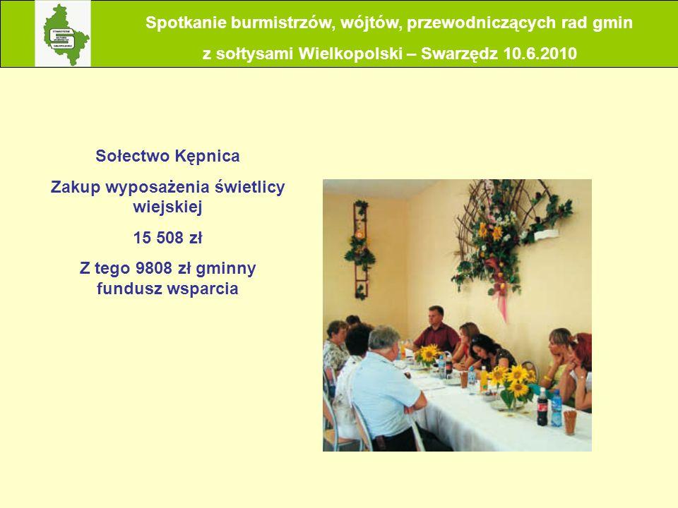 Spotkanie burmistrzów, wójtów, przewodniczących rad gmin
