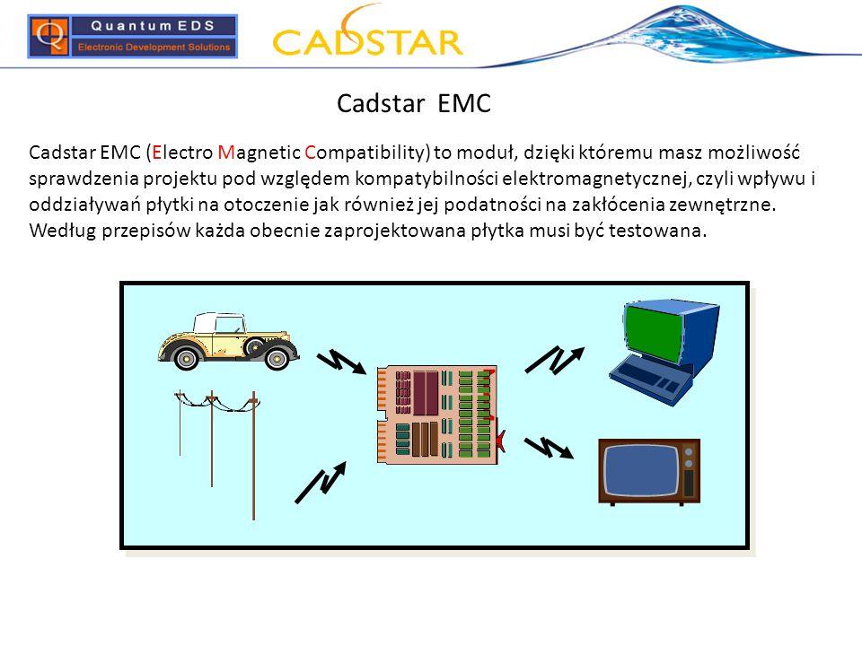 Cadstar EMC