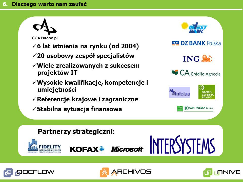 Partnerzy strategiczni: