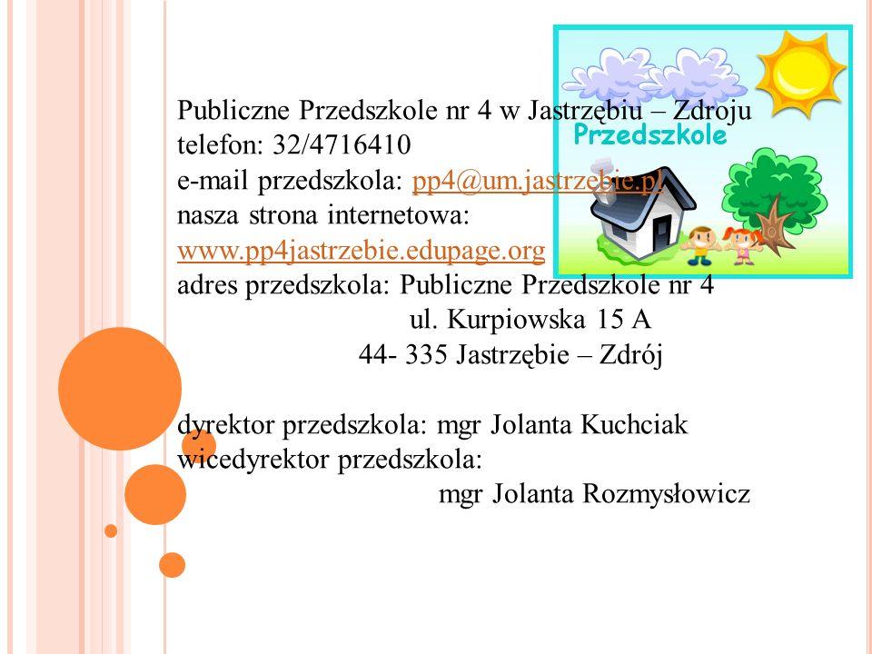 Publiczne Przedszkole nr 4 w Jastrzębiu – Zdroju