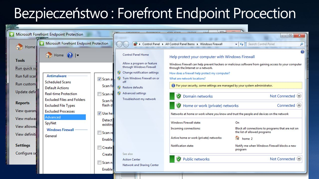 Bezpieczeństwo : Forefront Endpoint Procection