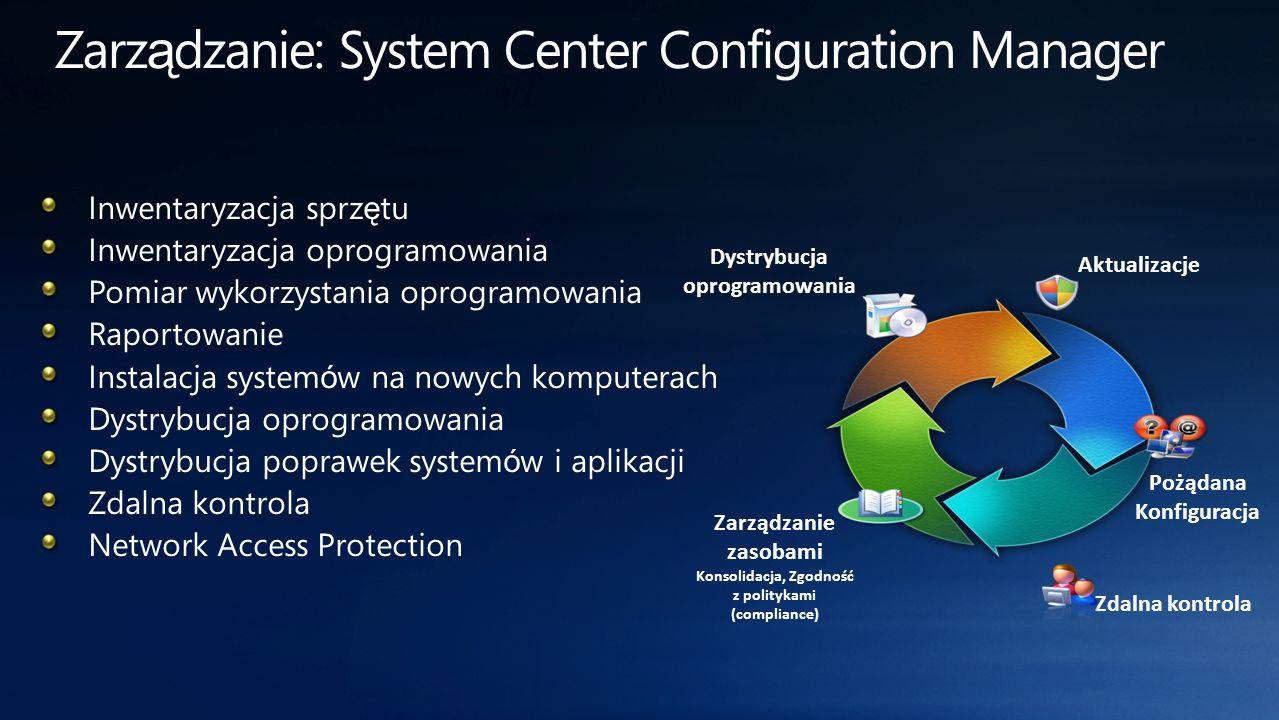 Zarządzanie: System Center Configuration Manager