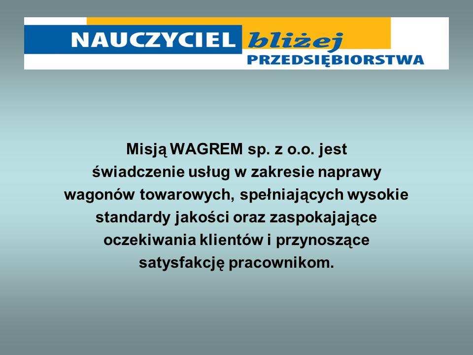 Misją WAGREM sp. z o.o.