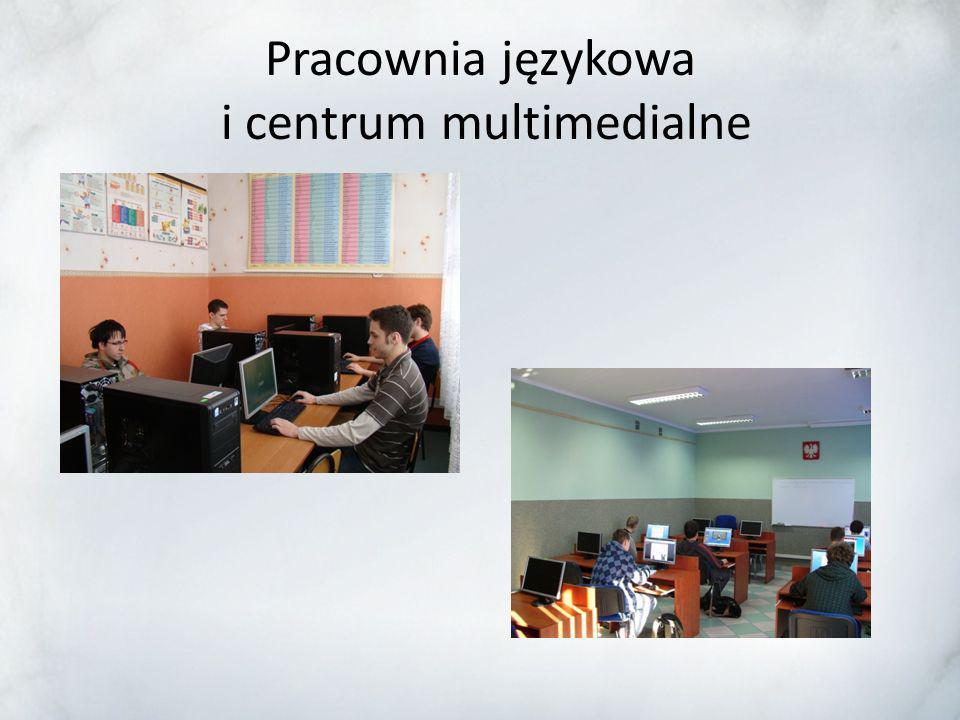 Pracownia językowa i centrum multimedialne