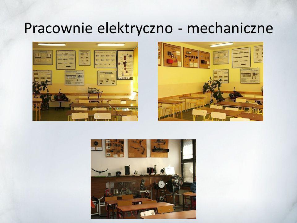 Pracownie elektryczno - mechaniczne