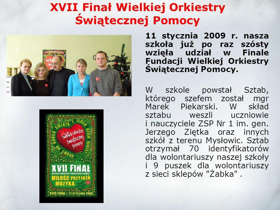 XVII Finał Wielkiej Orkiestry Świątecznej Pomocy