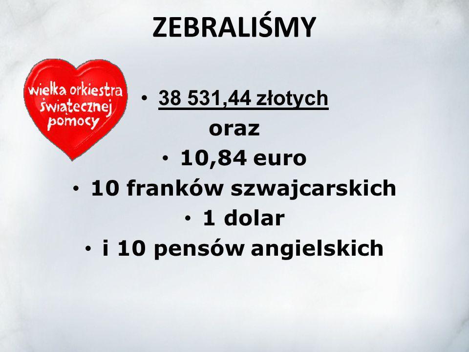 10 franków szwajcarskich