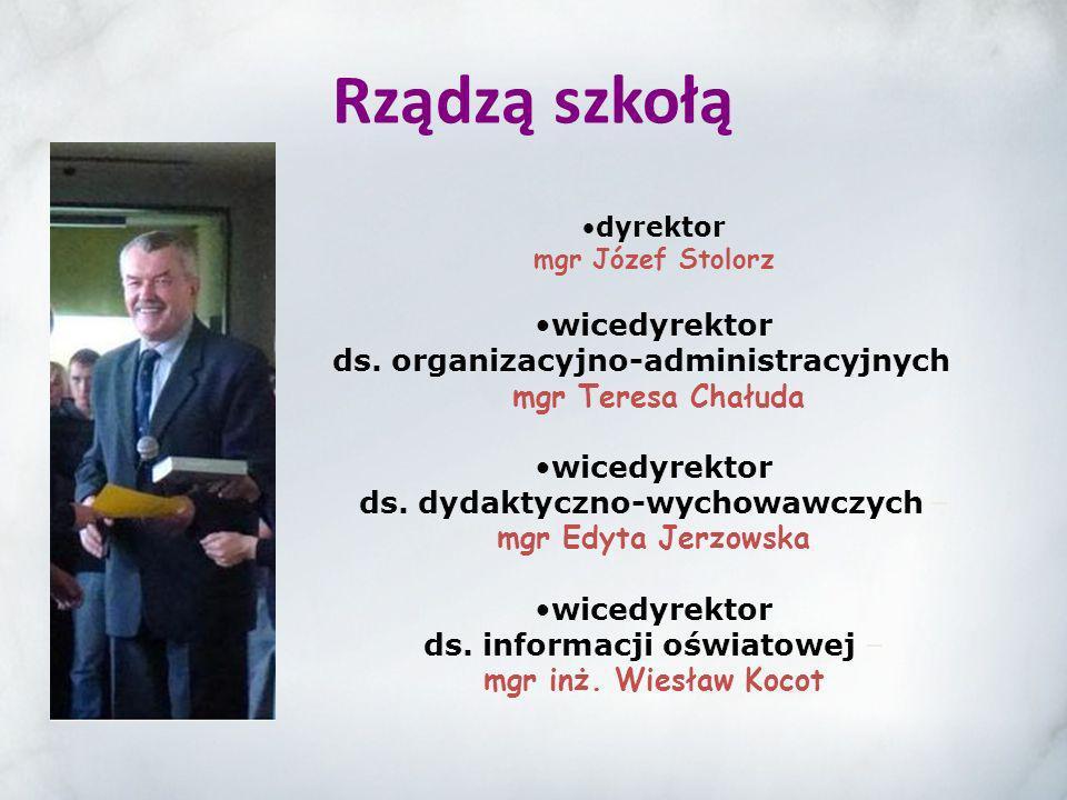 dyrektor mgr Józef Stolorz