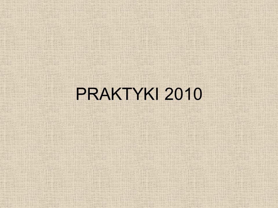 PRAKTYKI 2010