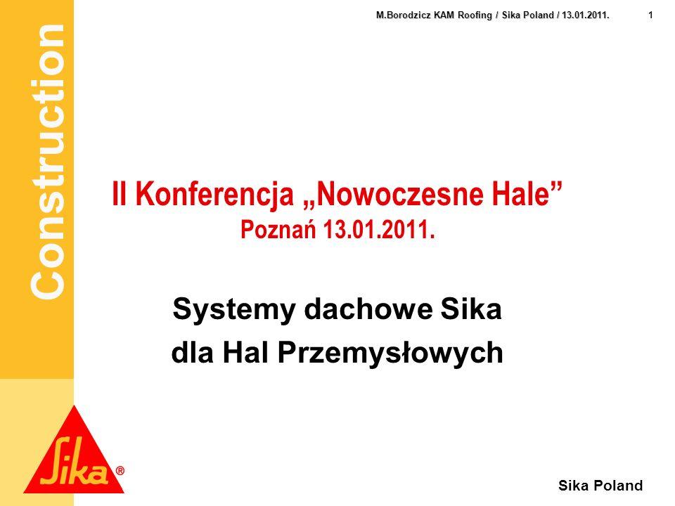 """II Konferencja """"Nowoczesne Hale Poznań 13.01.2011."""