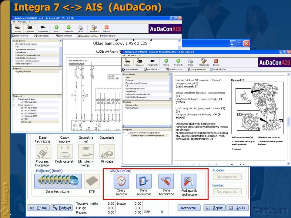 Integra 7 <-> AIS (AuDaCon)