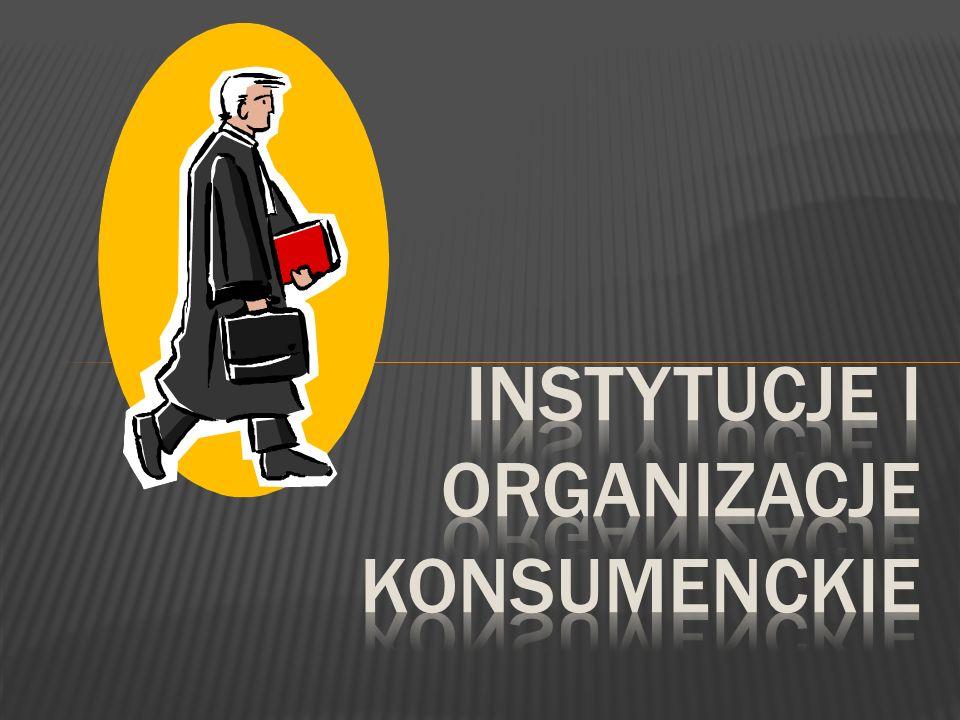 Instytucje i organizacje konsumenckie