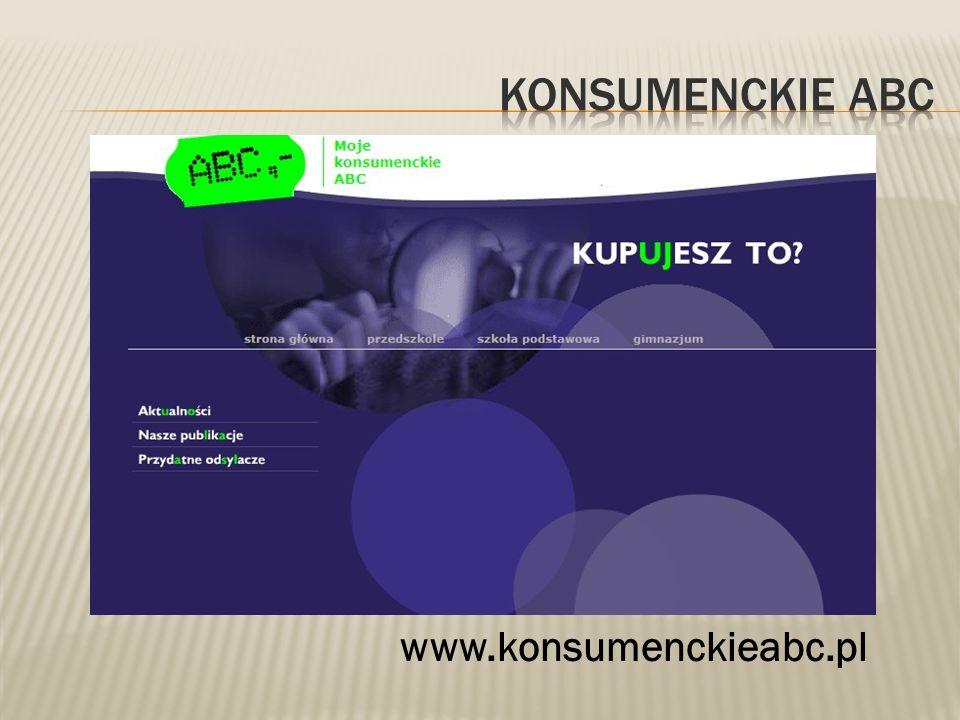 Konsumenckie abc www.konsumenckieabc.pl