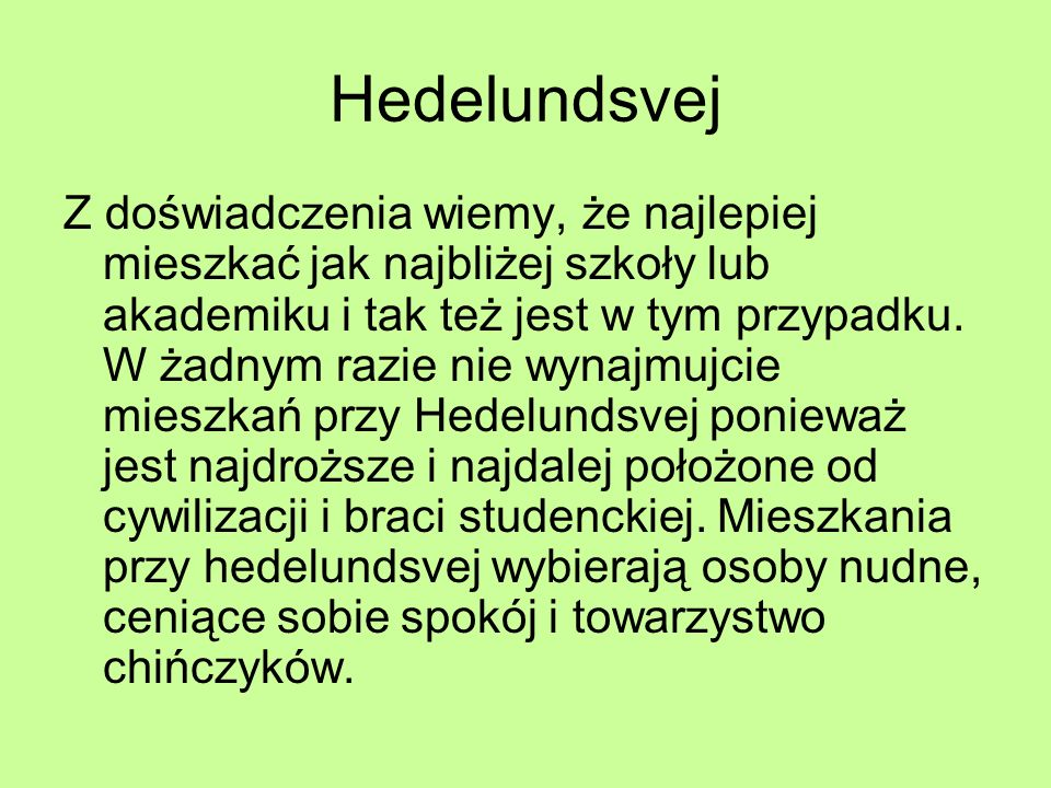 Hedelundsvej