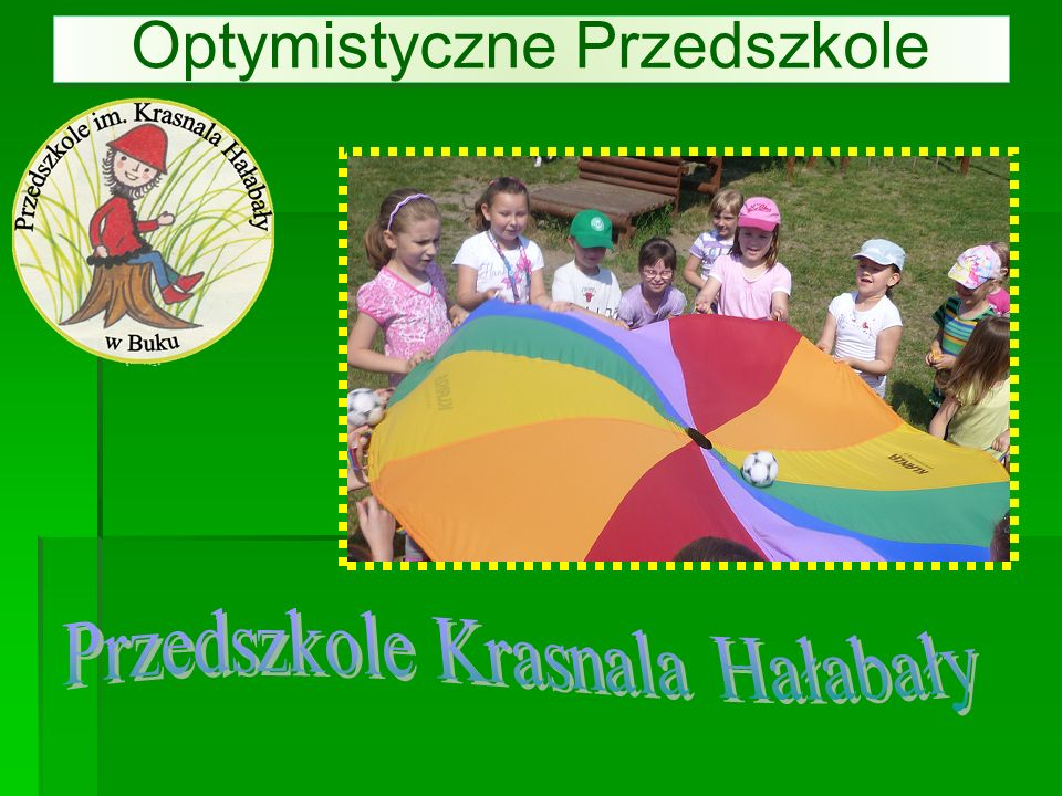 Optymistyczne Przedszkole