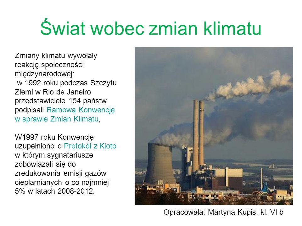 Świat wobec zmian klimatu