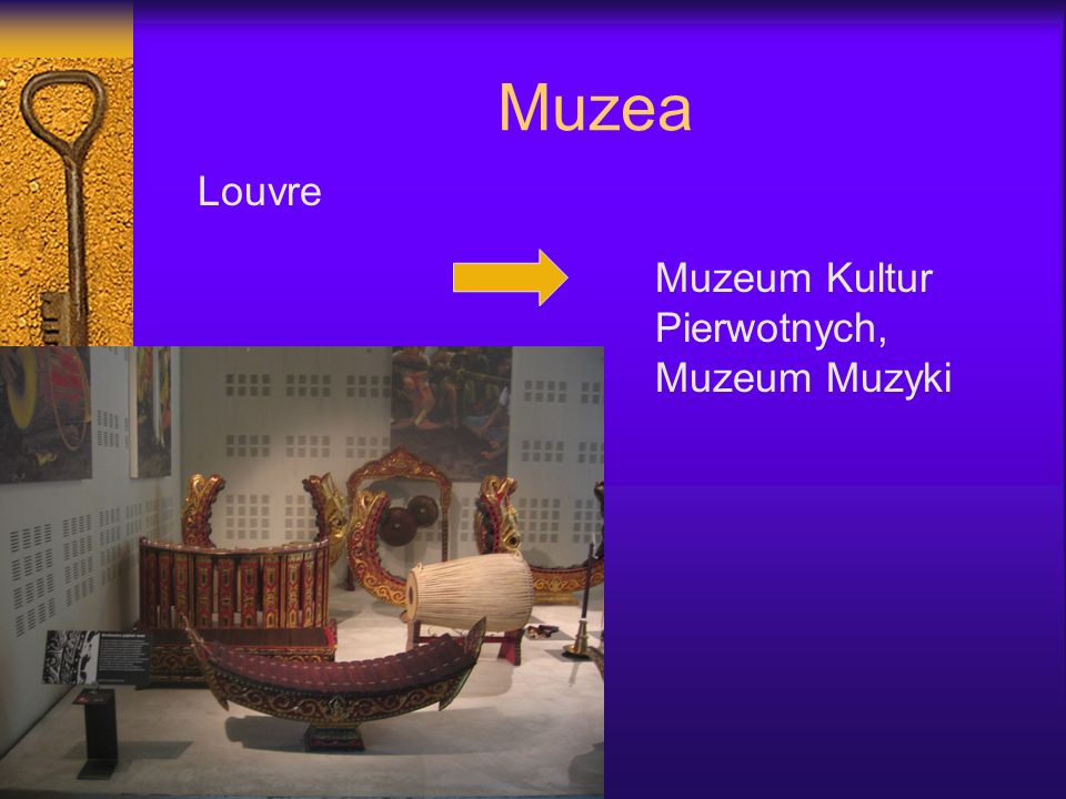Muzea Louvre Muzeum Kultur Pierwotnych, Muzeum Muzyki