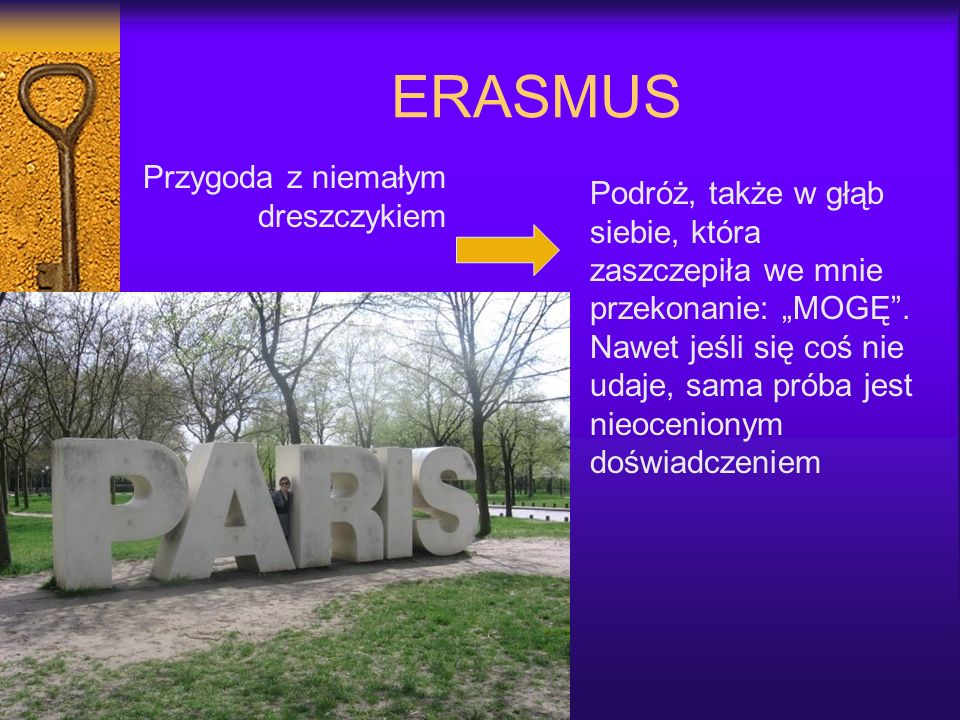 ERASMUS Przygoda z niemałym dreszczykiem