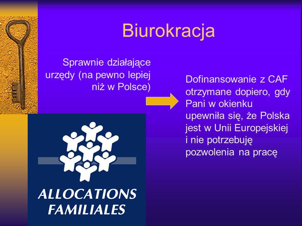 Biurokracja Sprawnie działające urzędy (na pewno lepiej niż w Polsce)