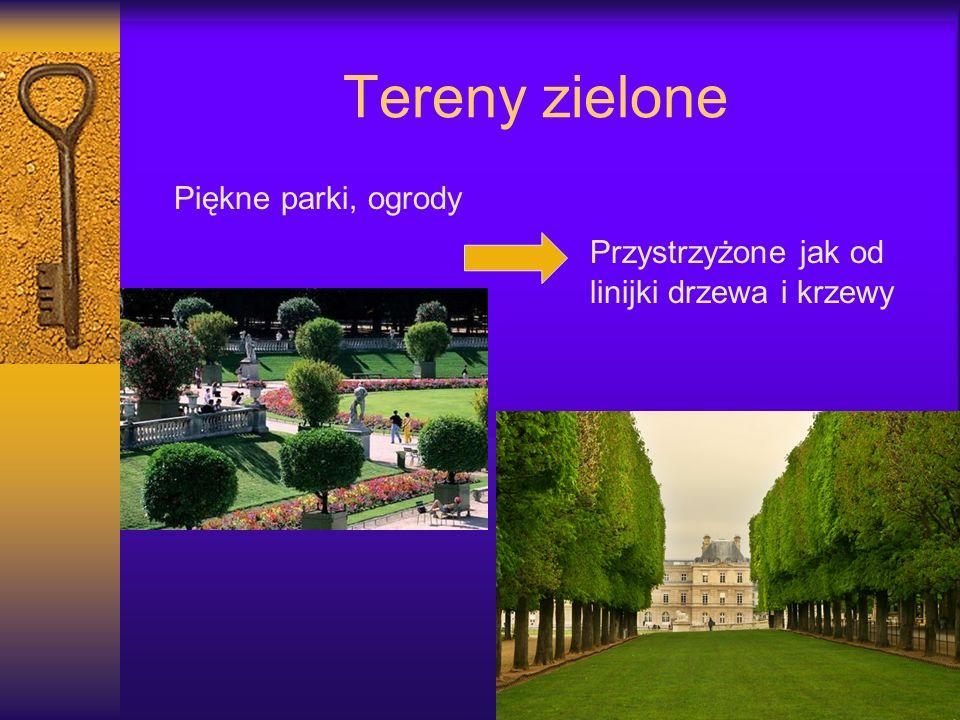 Tereny zielone Piękne parki, ogrody