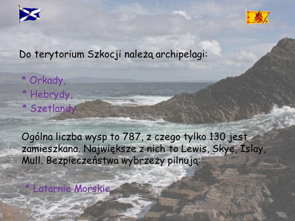 Do terytorium Szkocji należą archipelagi: