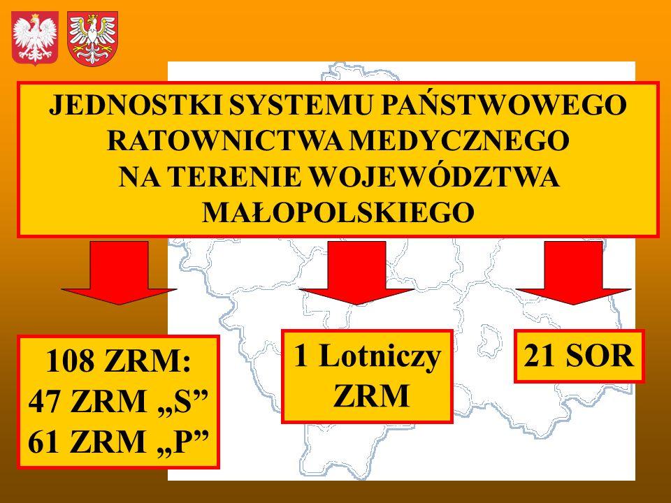 """1 Lotniczy ZRM 21 SOR 108 ZRM: 47 ZRM """"S 61 ZRM """"P"""