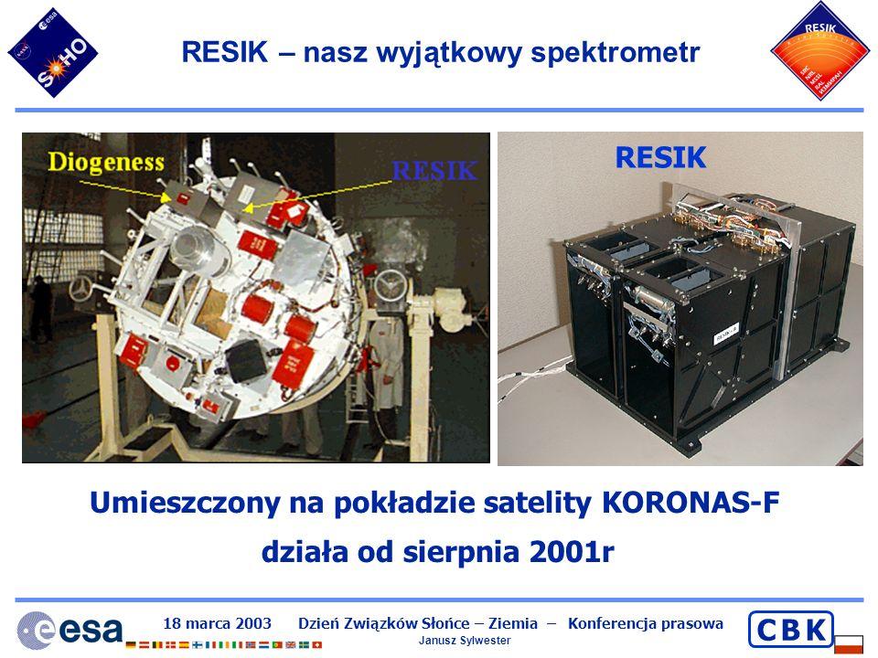 RESIK – nasz wyjątkowy spektrometr