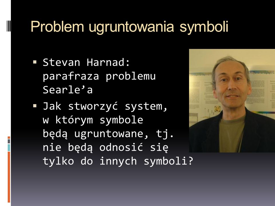 Problem ugruntowania symboli