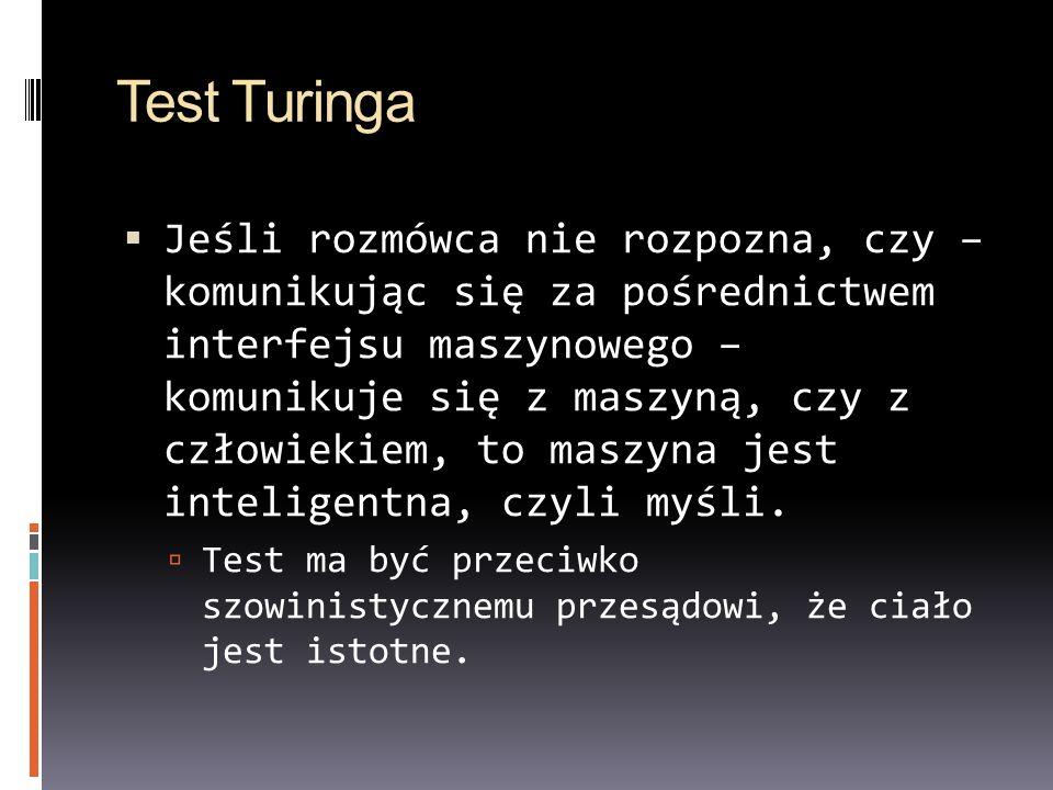 Test Turinga
