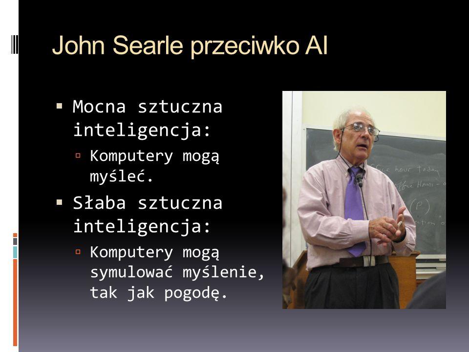 John Searle przeciwko AI