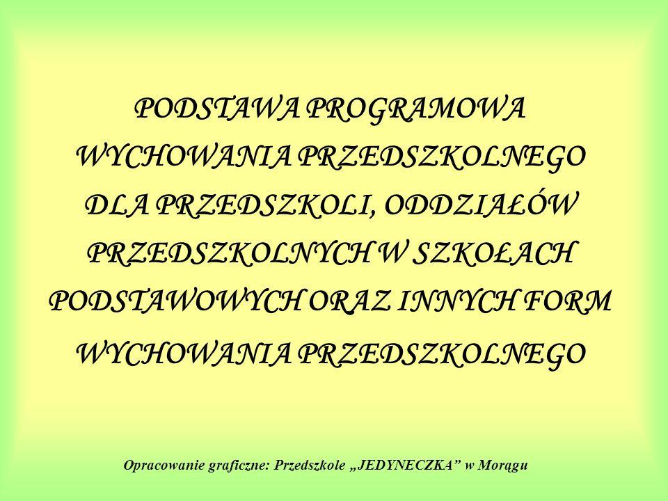 """Opracowanie graficzne: Przedszkole """"JEDYNECZKA w Morągu"""