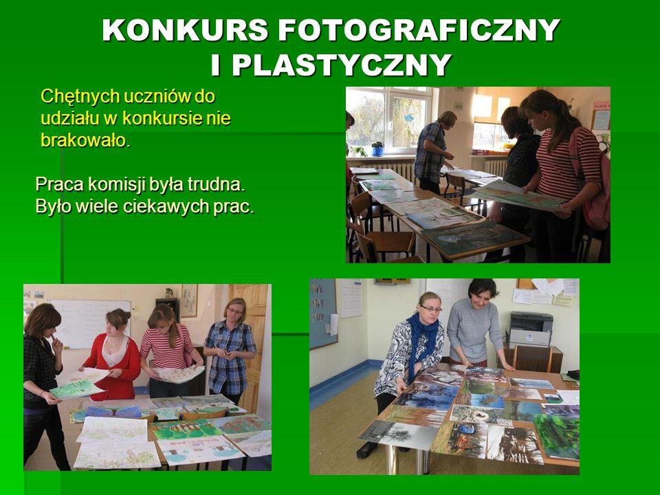 KONKURS FOTOGRAFICZNY I PLASTYCZNY