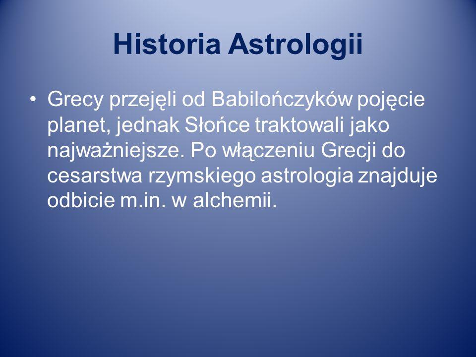 Historia Astrologii