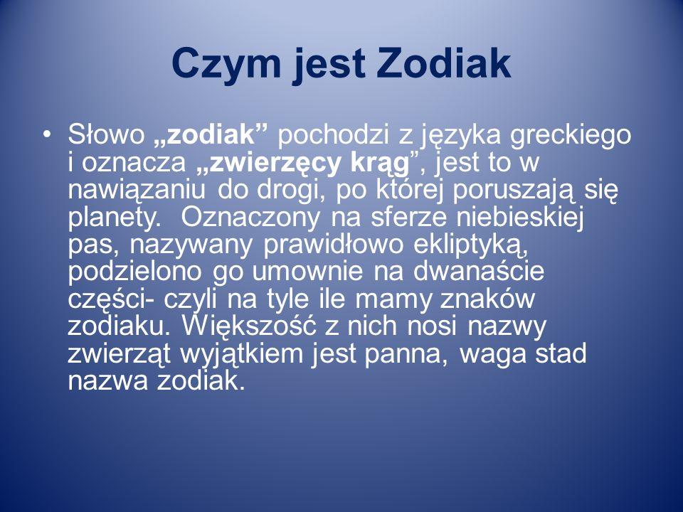Czym jest Zodiak