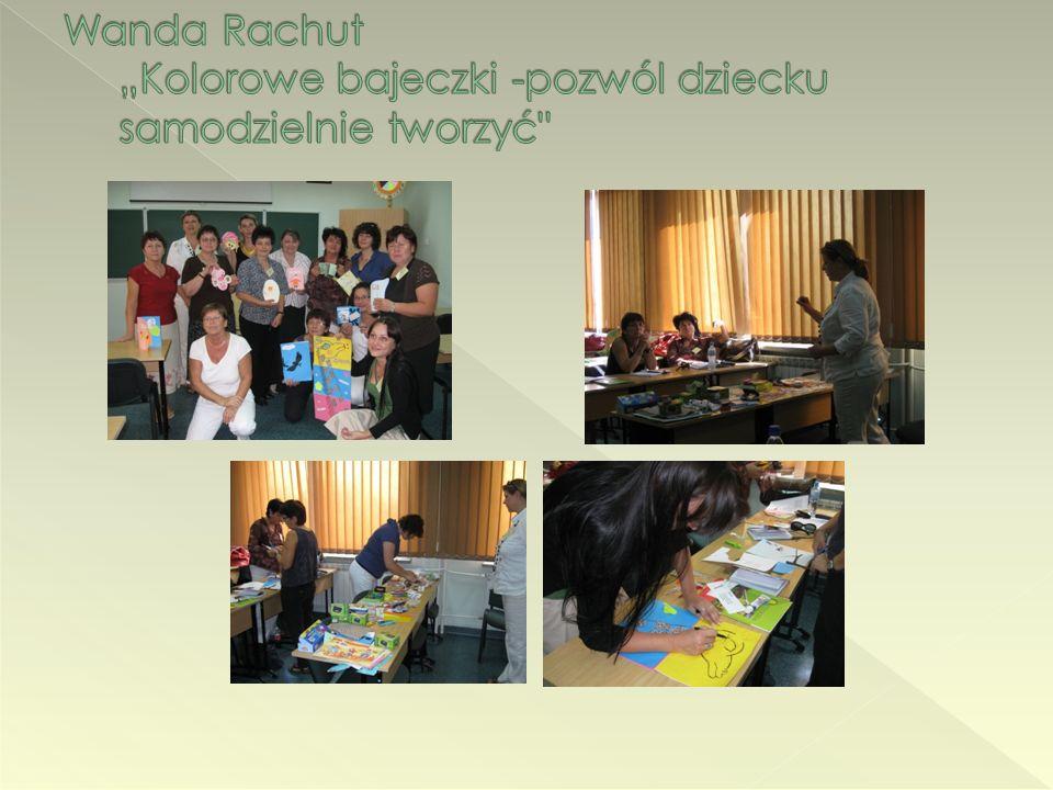 """Wanda Rachut """"Kolorowe bajeczki -pozwól dziecku samodzielnie tworzyć"""