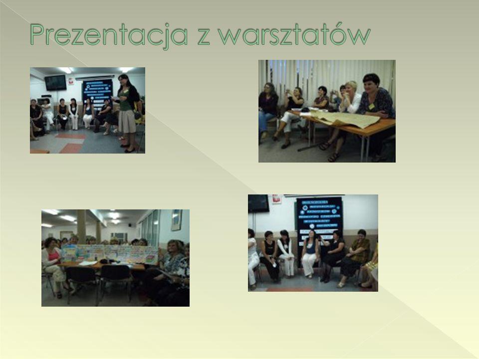 Prezentacja z warsztatów