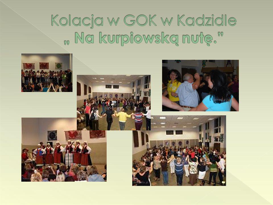"""Kolacja w GOK w Kadzidle """" Na kurpiowską nutę."""