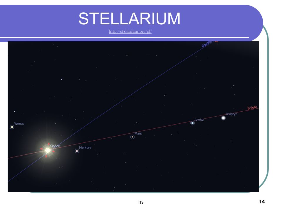 STELLARIUM http://stellarium.org/pl/