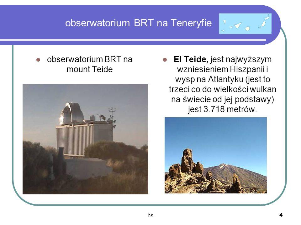 obserwatorium BRT na Teneryfie