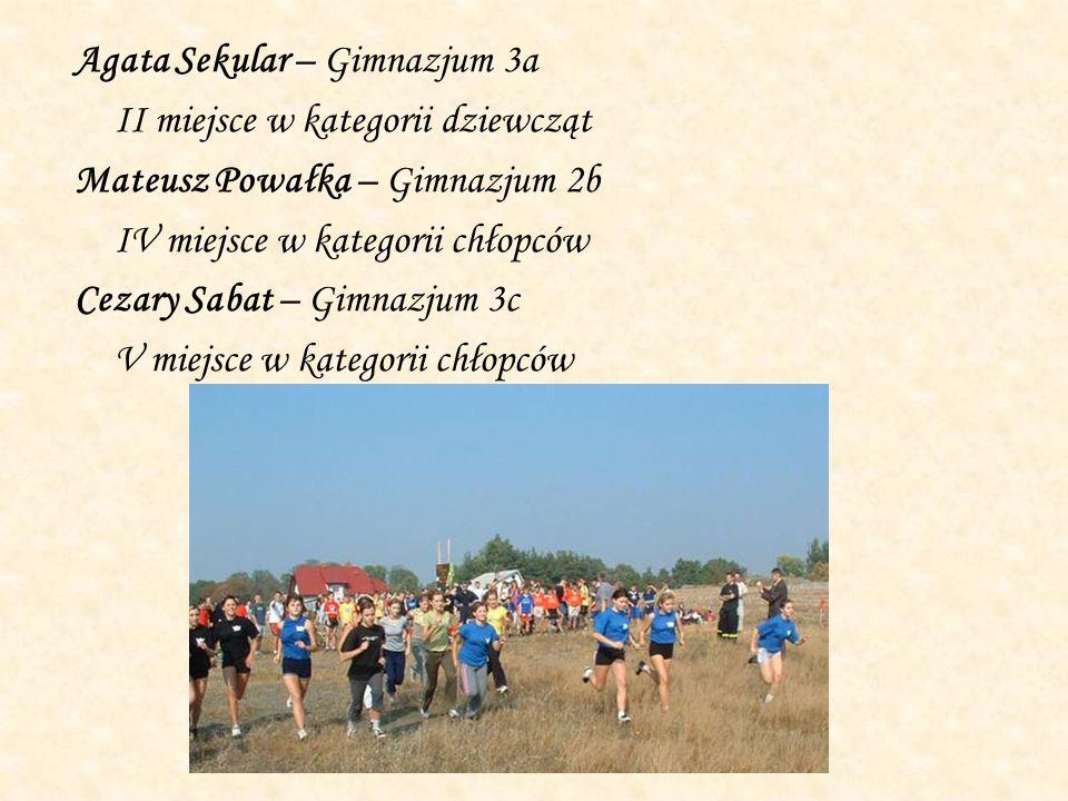 Agata Sekular – Gimnazjum 3a