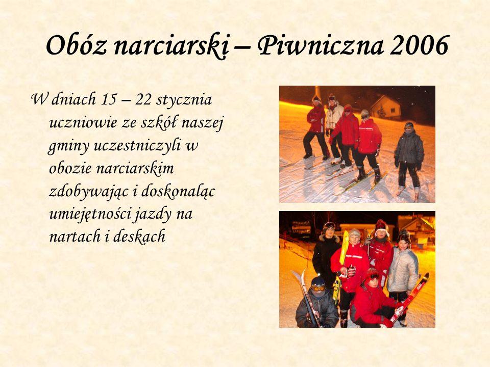 Obóz narciarski – Piwniczna 2006