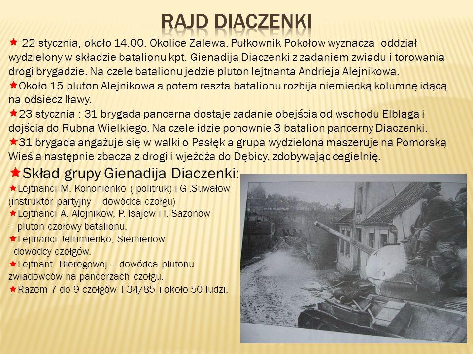 Rajd Diaczenki Skład grupy Gienadija Diaczenki: