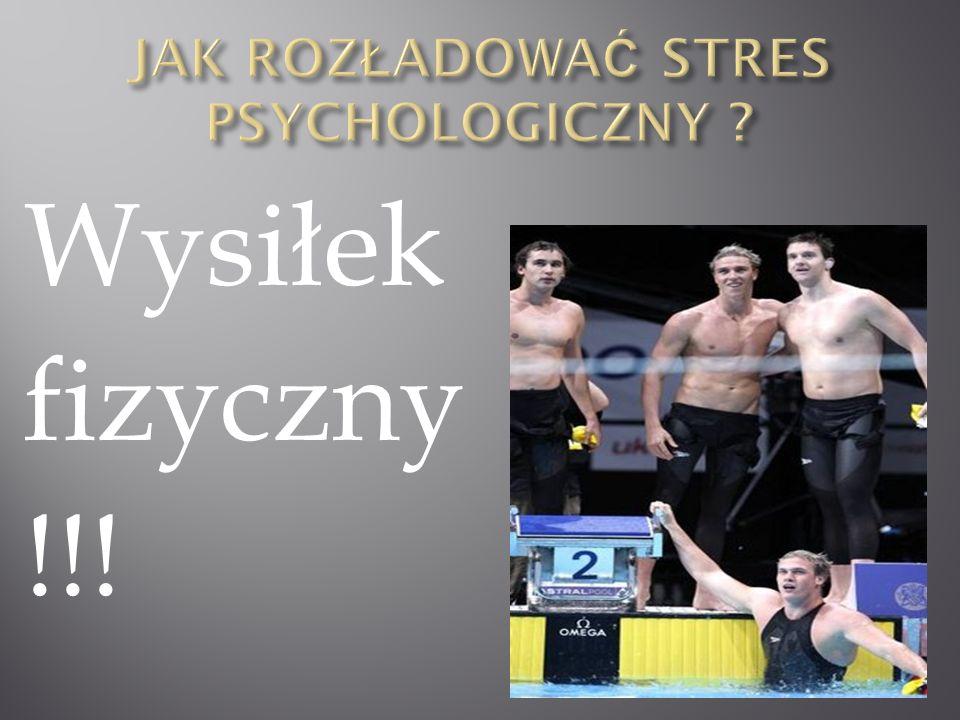 Jak rozładować stres psychologiczny