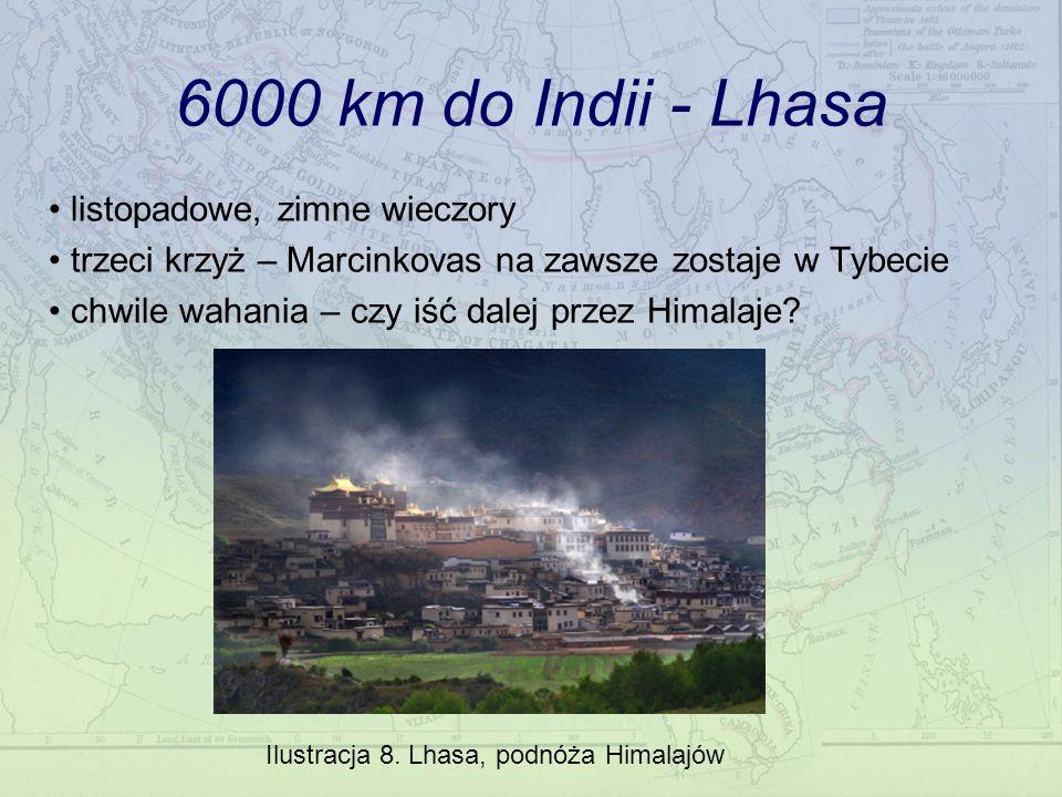 6000 km do Indii - Lhasa listopadowe, zimne wieczory