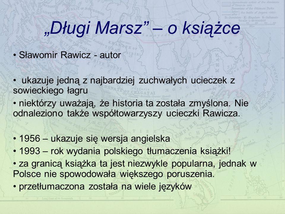 """""""Długi Marsz – o książce"""