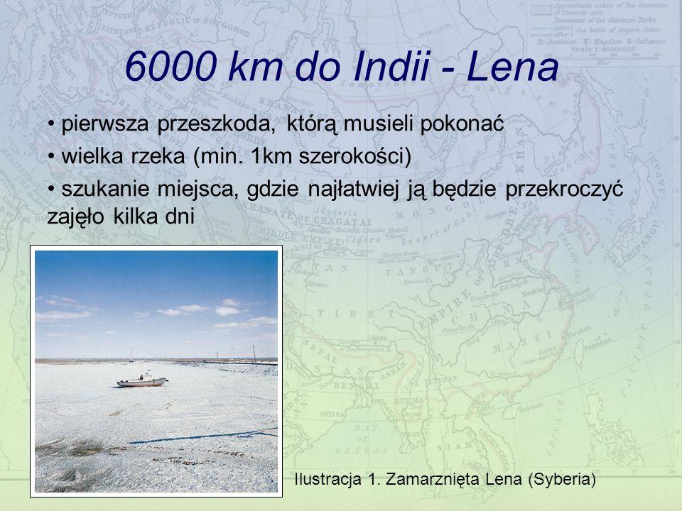 Ilustracja 1. Zamarznięta Lena (Syberia)