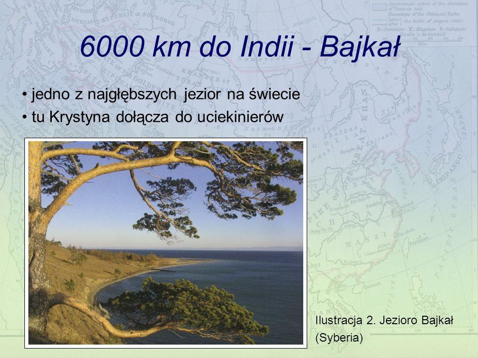 6000 km do Indii - Bajkał jedno z najgłębszych jezior na świecie